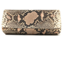 Load image into Gallery viewer, Ingrid- Python Painted Clutch