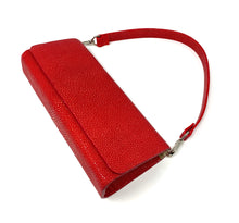 Load image into Gallery viewer, Ingrid- Stingray Polished Red Clutch