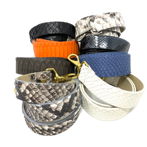 "Straps and Chains: Crossbody Straps 1.5"" wide"