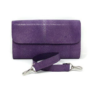 Elizabeth: Polished Stingray- Purple
