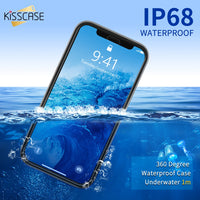 Wantsies iPhone Waterproof Case for iPhone X XS Max XR 360 5 5S SE 6S 6 7 8 Plus - Hot Kisscase-Fitted Cases-TheWantsies.com