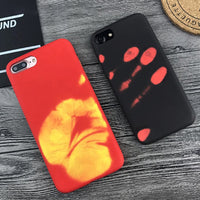 Wantsies iPhone Thermal Heat Induction Fun Hot Kiss Case-Fitted Cases-TheWantsies.com