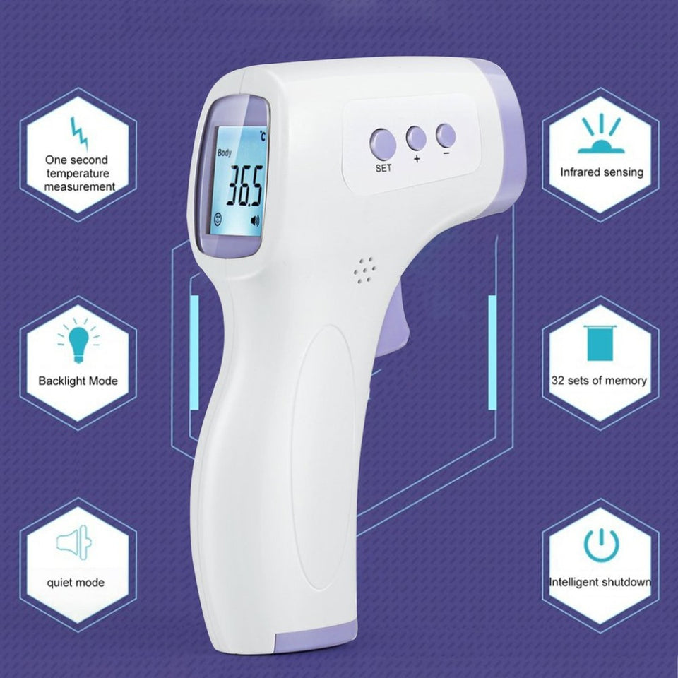 Fever Guard Instant Infrared Digital Thermometer - No Contact Instant Reading for Fever Patrol-Temperature Instruments-TheWantsies.com