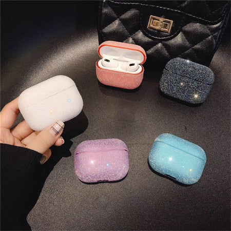 Bling Glitter Diamonds Sparkly Shockproof Protective Case For AirPods Pro 3 with Carabiner-Protective Cases for Airpods-TheWantsies.com