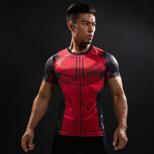 WantsieFit Mens Superhero Compression T-Shirt-T-Shirts-TheWantsies.com