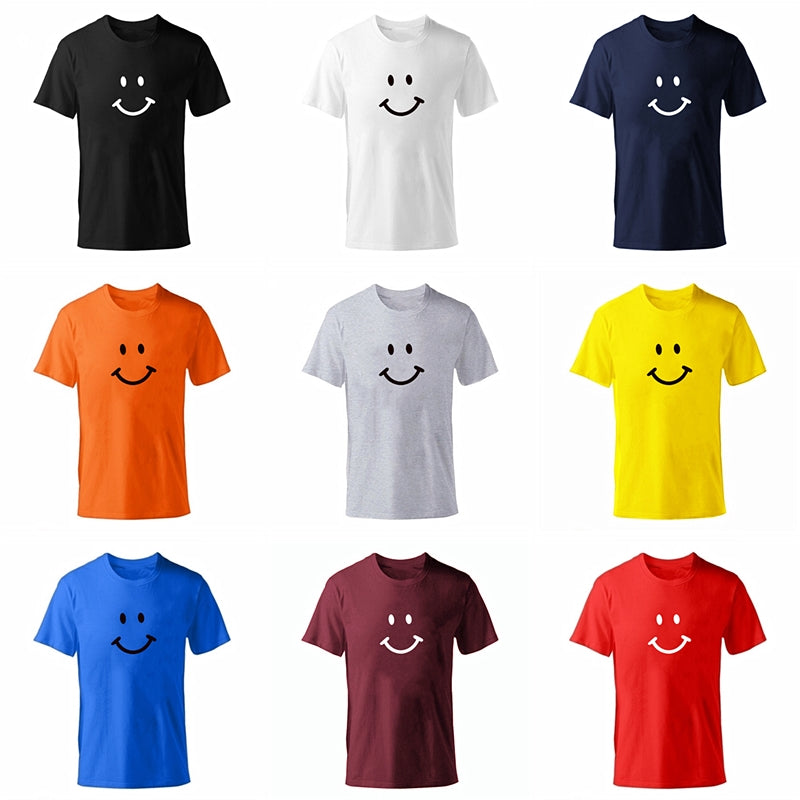 Men's Smiley Face Emoji T-shirt-T-Shirts-TheWantsies.com
