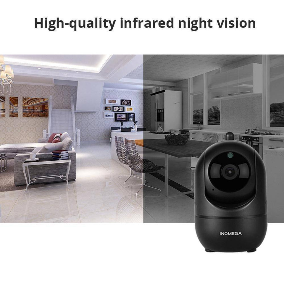 Wireless IP Intelligent Auto Tracking Home Security Surveillance Camera-Electronics-TheWantsies.com