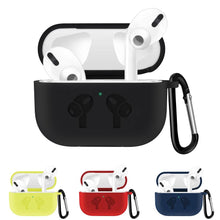 Waterproof Silicone Shockproof Protective Case For AirPods Pro with Carabiner-Protective Cases for Airpods-TheWantsies.com