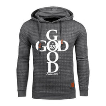 Gray Faith God Is Good Hoodie Sweatshirt - Psalms 107:1-Hoodies & Sweatshirts-M-TheWantsies.com