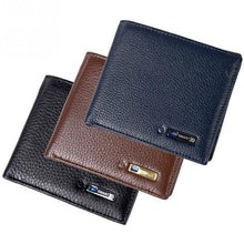 Men's Bluetooth Smart Leather Wallet with Anti-lost Anti-theft GPS-Locator-Wallets-TheWantsies.com