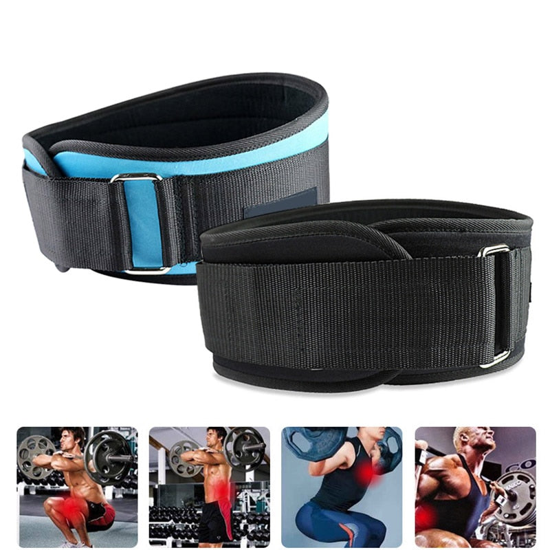 WantsieFit Weight Lifting Support Belt - Adjustable Waist and Back Support Belt for Squats-Weight Lifting-TheWantsies.com