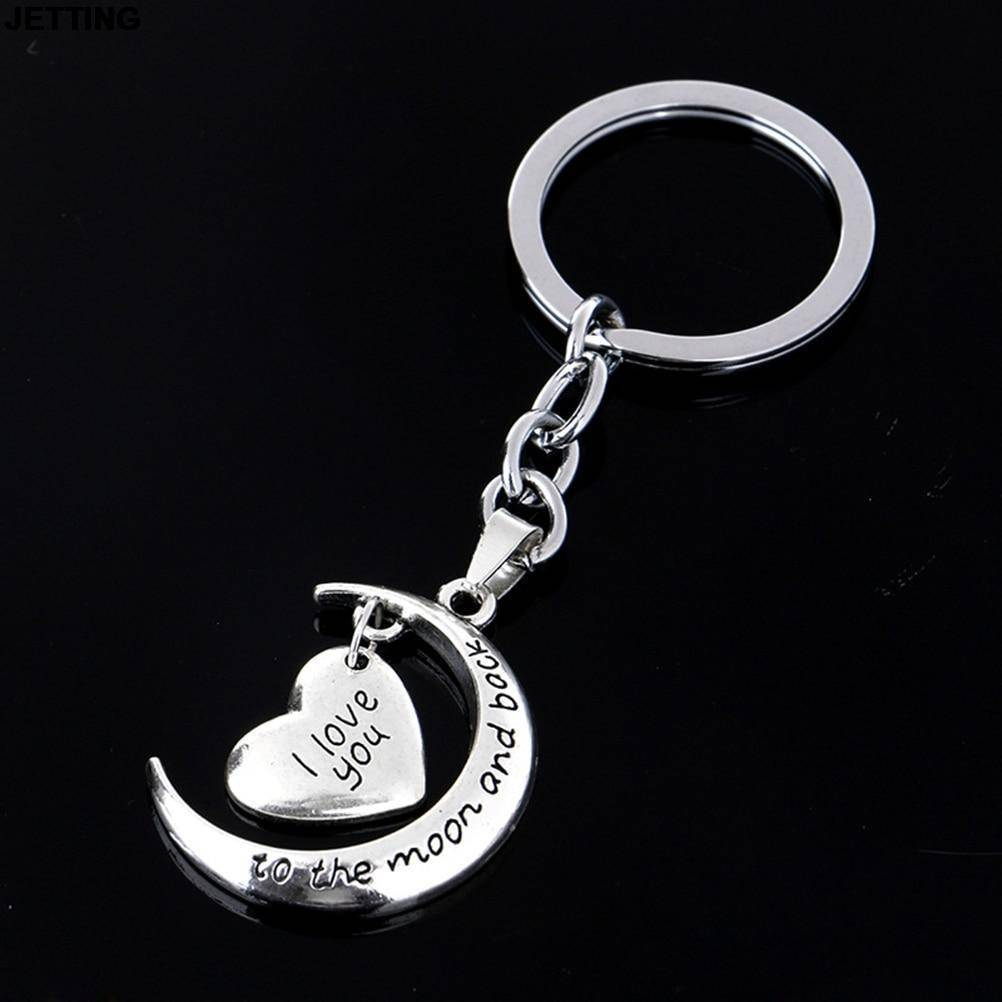 I Love You To The Moon and Back Key Ring-Accessories-TheWantsies.com