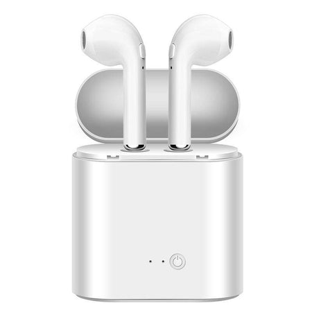 Wireless Bluetooth Earphones for iPhone, Samsung and all Smartphones with Charging Box-Bluetooth Earphones & Headphones-TheWantsies.com