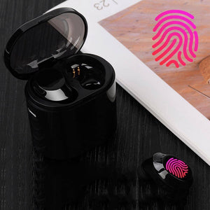 Wireless Waterproof Bluetooth Sport Mini Earbuds with Charging Box-Bluetooth Earphones & Headphones-TheWantsies.com