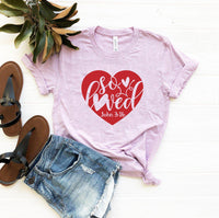 Wantsies So Loved T-Shirt - John 3:16 Inspirational Christian Tee-T-shirts-TheWantsies.com