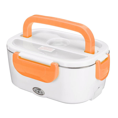Pink Heating Electric Lunch Box For Travelers, Truck Drivers, Car, Home or Work-Lunch Boxes-US Plastic Liner-TheWantsies.com