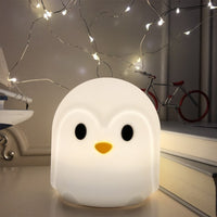 Wantsies Touch Sensor LED Penguin Night Light-Night Lights-TheWantsies.com