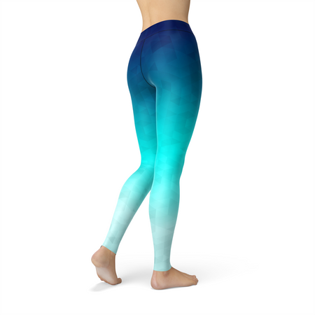 WantsieFit Riptide Triangles Gym Workout Leggings-Leggings-TheWantsies.com