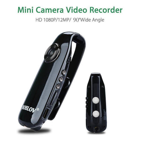 Mini HD Hidden Body Spy Camera-Mini Camcorders-TheWantsies.com