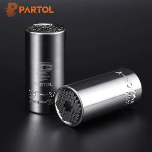 Universal Ratchet Socket Wrench Adapter for Nuts, Bolt Heads, Hooks and Other Fasteners-Tools-TheWantsies.com