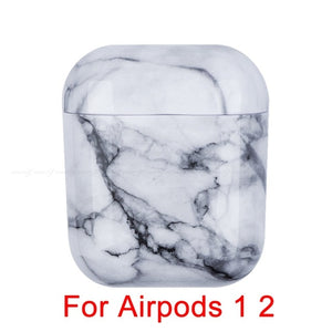 03 Marble Pattern Shockproof Protective Hard Case Shell For AirPods 1, 2 & Pro-Protective Cases for Airpods-TheWantsies.com
