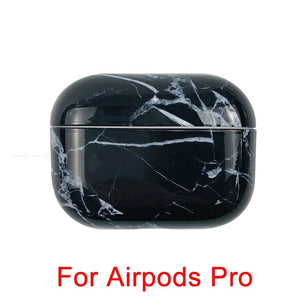 05 [94] Marble Pattern Shockproof Protective Hard Case Shell For AirPods 1, 2 & Pro-Protective Cases for Airpods-TheWantsies.com