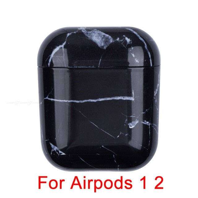 05 Marble Pattern Shockproof Protective Hard Case Shell For AirPods 1, 2 & Pro-Protective Cases for Airpods-TheWantsies.com