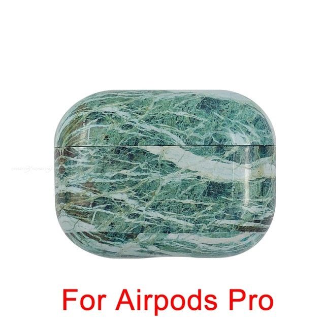 10 Marble Pattern Shockproof Protective Hard Case Shell For AirPods 1, 2 & Pro-Protective Cases for Airpods-TheWantsies.com