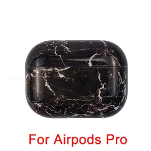 11 Marble Pattern Shockproof Protective Hard Case Shell For AirPods 1, 2 & Pro-Protective Cases for Airpods-TheWantsies.com