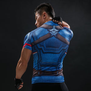 11 WantsieFit Mens Superhero Compression T-Shirt-T-Shirts-S-TheWantsies.com