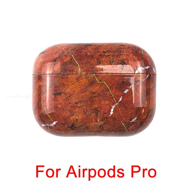 12 Marble Pattern Shockproof Protective Hard Case Shell For AirPods 1, 2 & Pro-Protective Cases for Airpods-TheWantsies.com