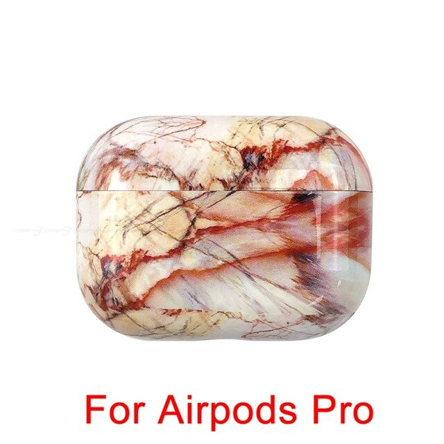 13 Marble Pattern Shockproof Protective Hard Case Shell For AirPods 1, 2 & Pro-Protective Cases for Airpods-TheWantsies.com