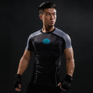 13 WantsieFit Mens Superhero Compression T-Shirt-T-Shirts-S-TheWantsies.com