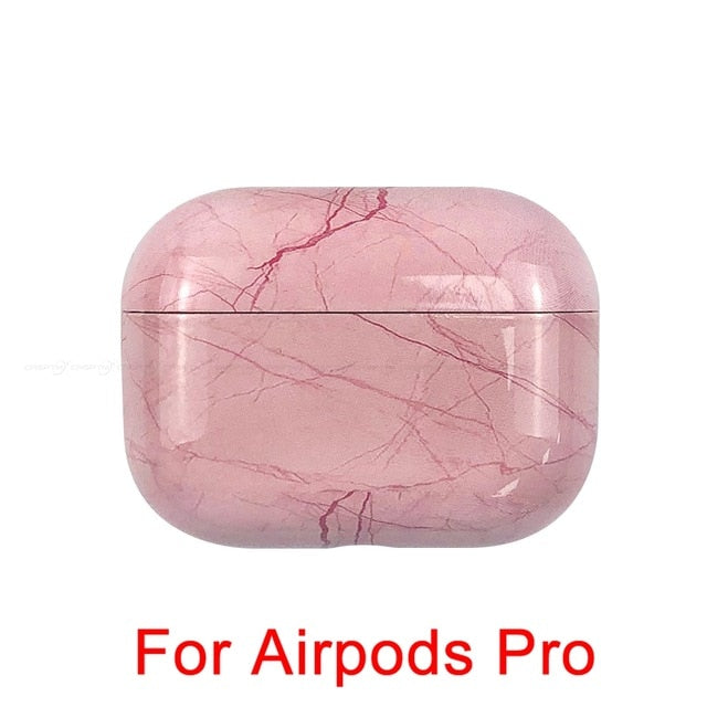 15 Marble Pattern Shockproof Protective Hard Case Shell For AirPods 1, 2 & Pro-Protective Cases for Airpods-TheWantsies.com