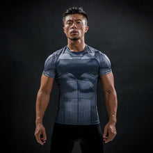 1 WantsieFit Mens Superhero Compression T-Shirt-T-Shirts-S-TheWantsies.com