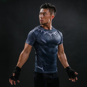 8 WantsieFit Mens Superhero Compression T-Shirt-T-Shirts-S-TheWantsies.com
