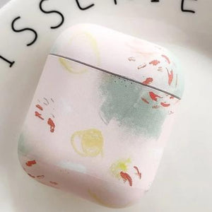 A-Soft Vintage Art Floral Flower Pattern Protective Shockproof Soft or Hard Case For AirPods 1 & 2-Protective Cases for Airpods-TheWantsies.com