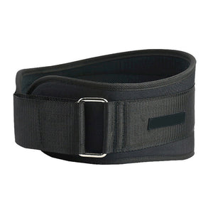 Black WantsieFit Weight Lifting Support Belt - Adjustable Waist and Back Support Belt for Squats-Weight Lifting-M-TheWantsies.com