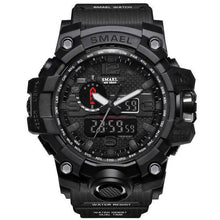 Black Mens Military Diver Waterproof Sport Watch-Electronics-TheWantsies.com
