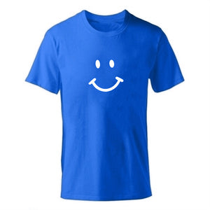 D-blue-b Men's Smiley Face Emoji T-shirt-T-Shirts-XS-TheWantsies.com