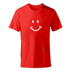 D-red-b Men's Smiley Face Emoji T-shirt-T-Shirts-XS-TheWantsies.com