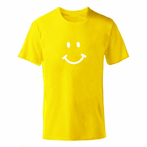 D-yellow-b Men's Smiley Face Emoji T-shirt-T-Shirts-XS-TheWantsies.com
