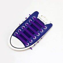 Lavender No Tie Silicone Shoelaces - Easy Lace your Shoes-Shoelaces-TheWantsies.com