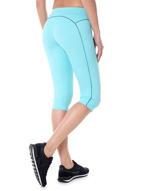 Light Blue11 WantsieFit Solid Capri Tight Fit Workout Leggings-Yoga Pants-XS-TheWantsies.com
