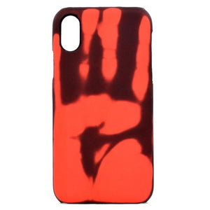 For iphone 6 Wantsies iPhone Thermal Heat Induction Fun Hot Kiss Case-Fitted Cases-Red-TheWantsies.com