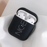 Style 14 Pink or Black Nice Shockproof Protective Hard Case Shell For AirPods 1 & 2-Protective Cases for Airpods-TheWantsies.com