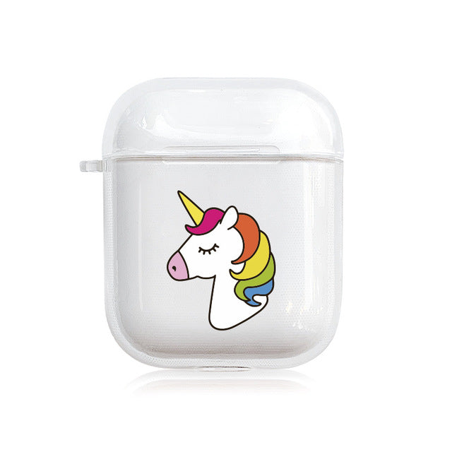 Style 22 Be A Unicorn Protective Shockproof Silicone Case For AirPods 1 & 2-Protective Cases for Airpods-TheWantsies.com