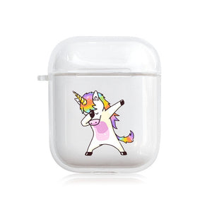 Style 24 Be A Unicorn Protective Shockproof Silicone Case For AirPods 1 & 2-Protective Cases for Airpods-TheWantsies.com