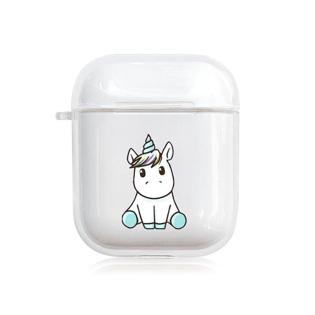 Style 26 Be A Unicorn Protective Shockproof Silicone Case For AirPods 1 & 2-Protective Cases for Airpods-TheWantsies.com