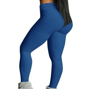 Style 3 Royalblue WantsieFit Anti Cellulite Ruched or Pocket Style High Waist Push Up Gym Legging Yoga Pants-Leggings-S-TheWantsies.com
